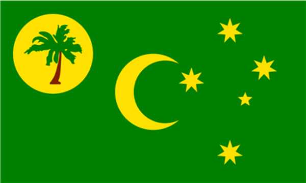 Flag Cocos and Keeling Islands