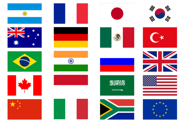 Picture of G20 Countries