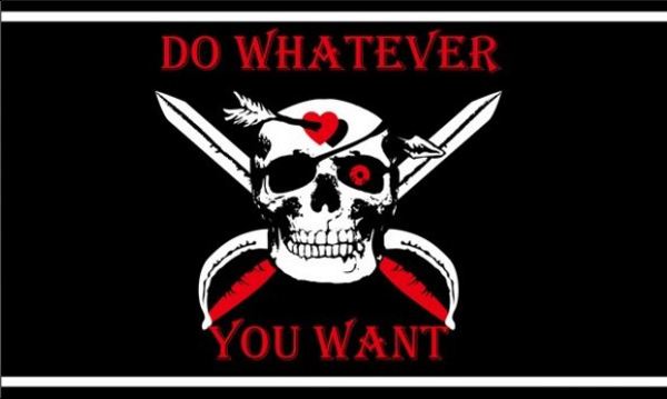 Pirate Do Whatever You Want
