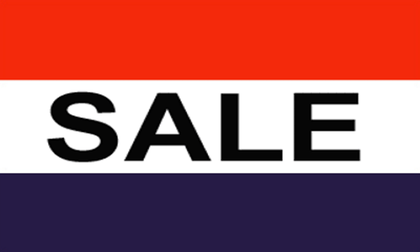 Sale Red White Blue