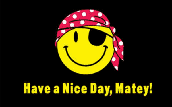 Flag Have A Nice Day Matey