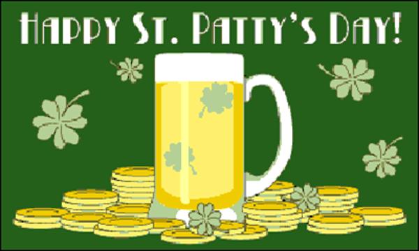 Happy Saint Patrick's Day Green