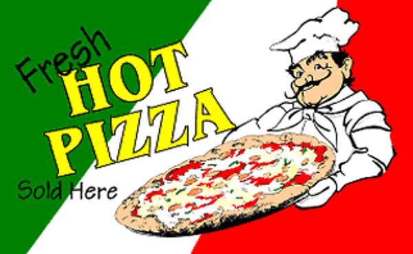 Flag Pizza Fresh Hot