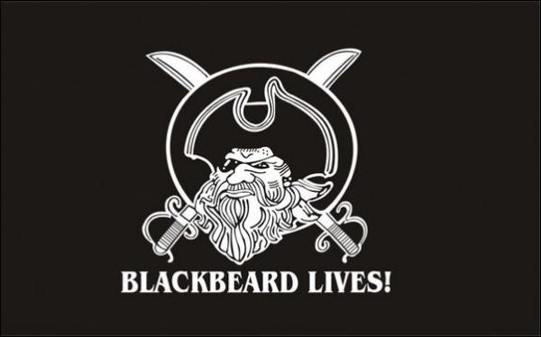 Flag BlackBeard Lives