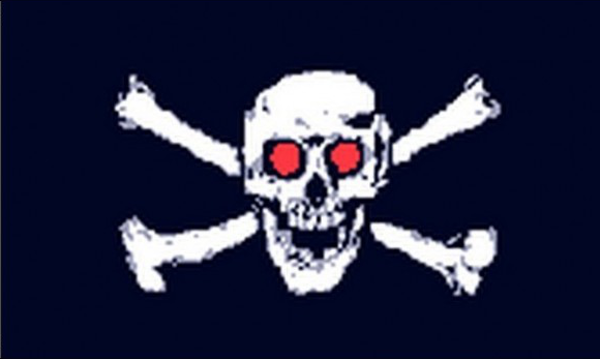 Pirate With Red Eyes