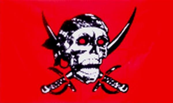 Pirate Red Skull
