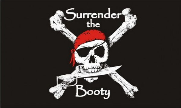 Pirate Surrender Booty