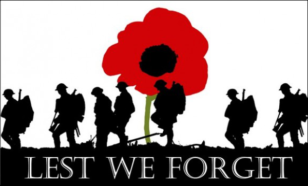 Flag Lest We Forget Army