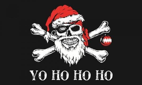 Yo Ho Ho Santa Pirate