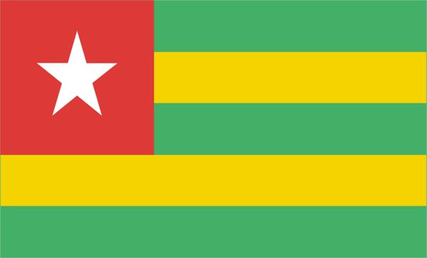 Flag Togo