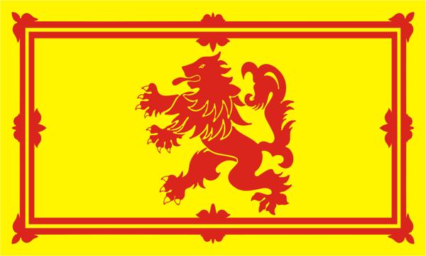 Flag UK  Lion Rampant of Scotland
