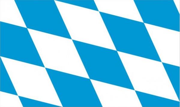 Flag Germany Bavaria