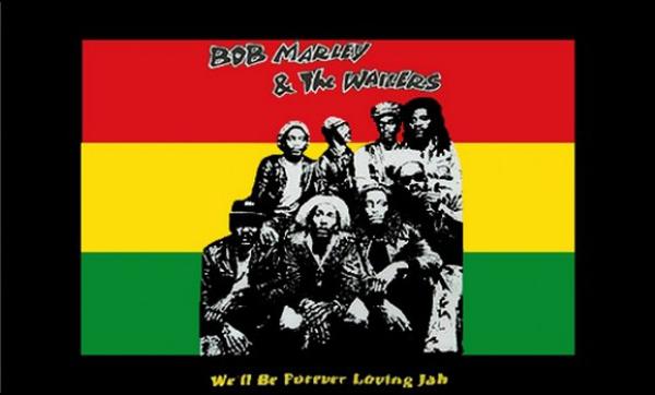 Flag Bob Marley Wailers