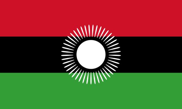 Flag Malawi 2010 to 2012
