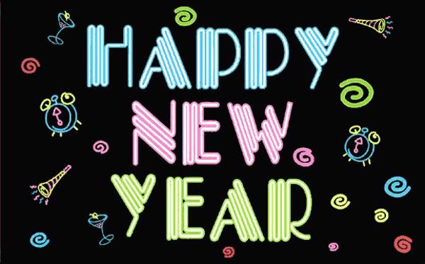 Happy New Year Neon