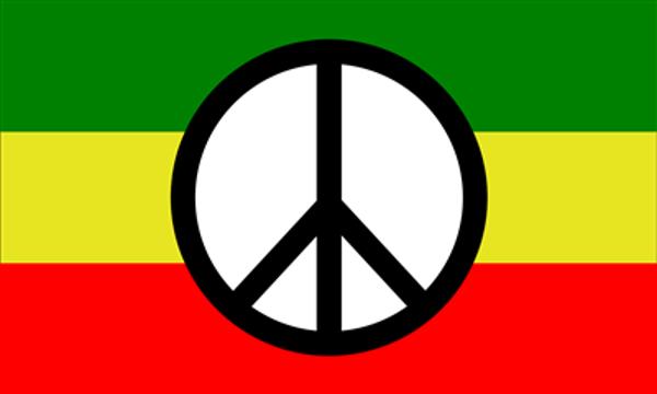 Peace Symbol Rastafari