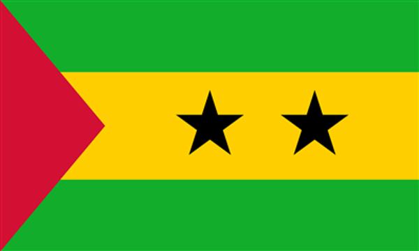 Flag Sao Tome And Principe