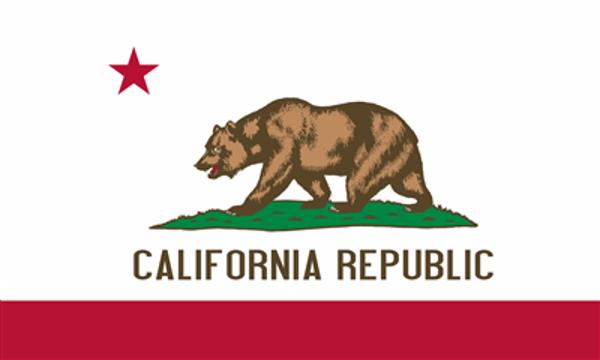 Flag United States America California