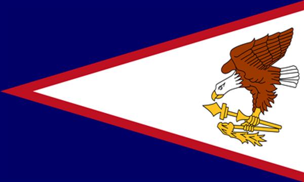 Flag US American Samoa