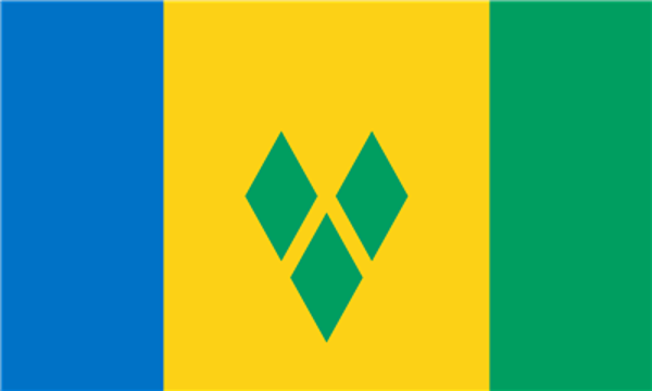 Flag Saint Vincent And The Grenadines