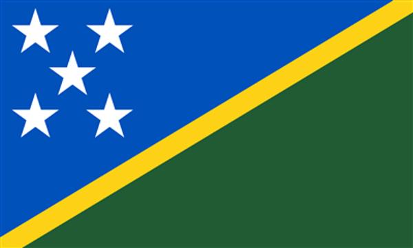Flag Solomon Islands