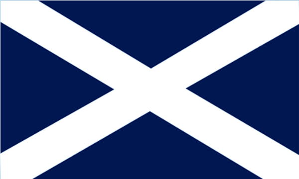 Flag UK Saint Andrews Dark Blue