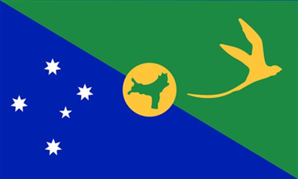 Flag Christmas Island