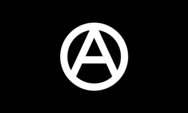 Anarchy White On Black