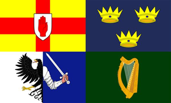 Flag Ireland Four Provinces