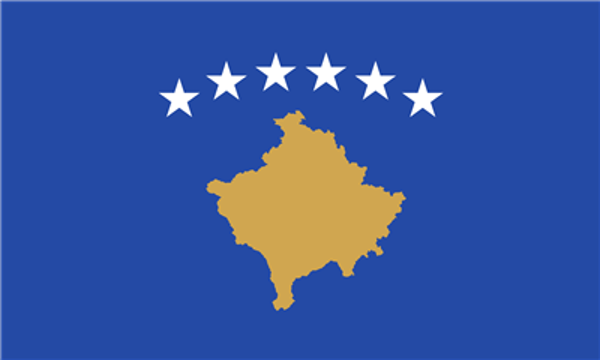 Flag Kosovo Republic Of