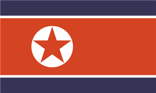 Flag Korea North