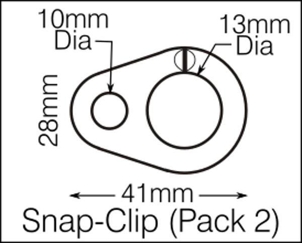 Flag Clip pack of 2
