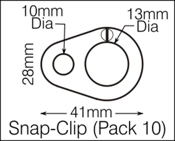 Flag Clip pack of 10